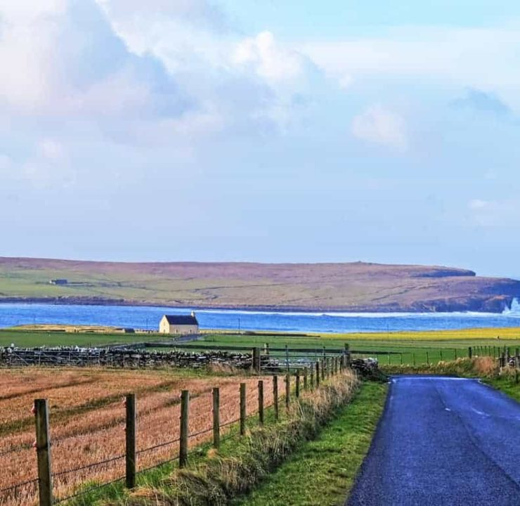 Crofting in Orkney at Instabillie