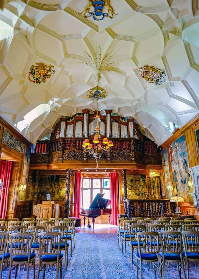 Fyvie Castle interior