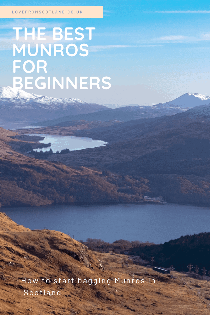Fancy trying Munro climbing in Scotland? If you are thinking of bagging a Munro here are 10 of the easiest Munros for beginners and how to climb them.