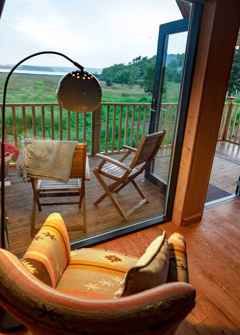 luxury cabin in scotland