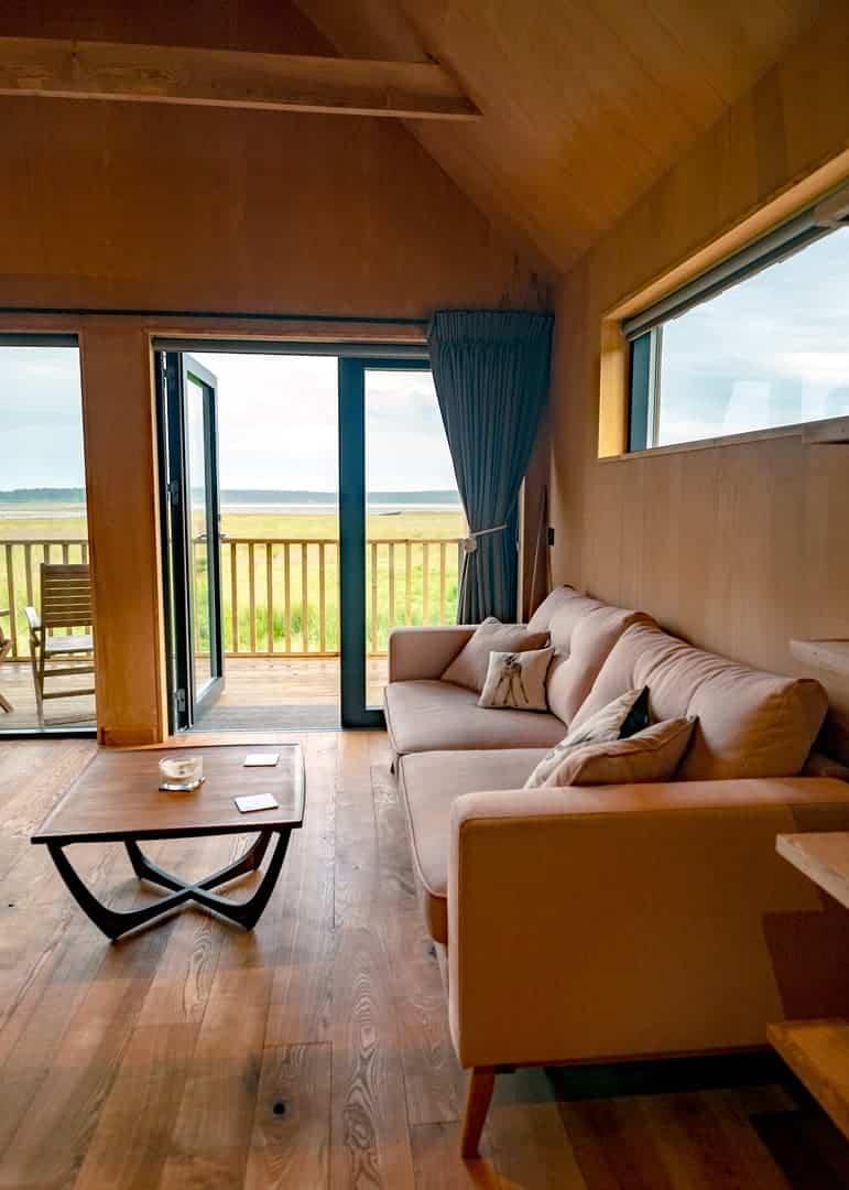 log cabin in scotland