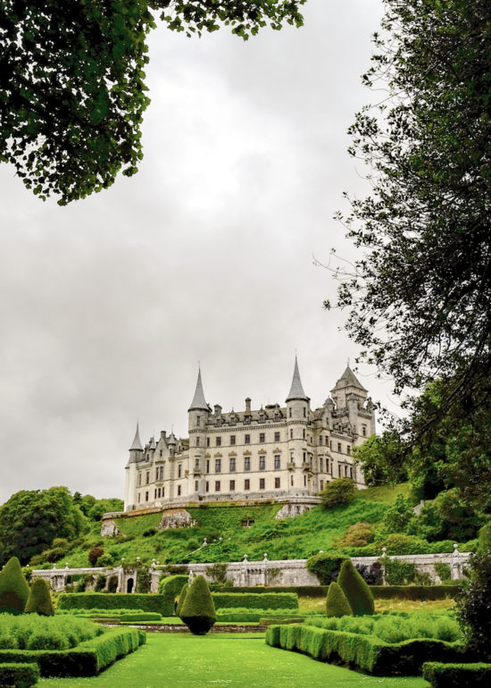 North Coast 500 route -Dunrobin Castle