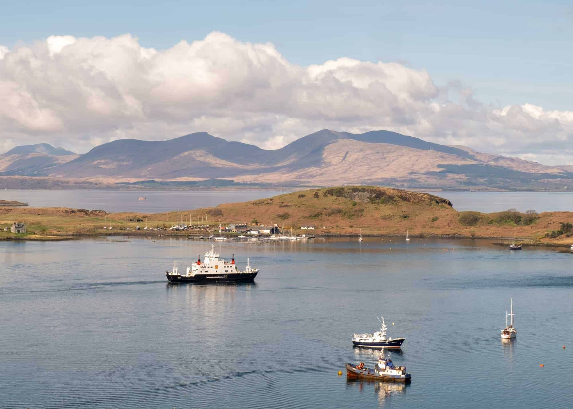 How to ferry hop the Hebridean Islands