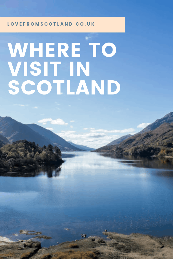 Instead of googling the 'top ten things to do in Scotland' - here is where to visit in Scotland instead.