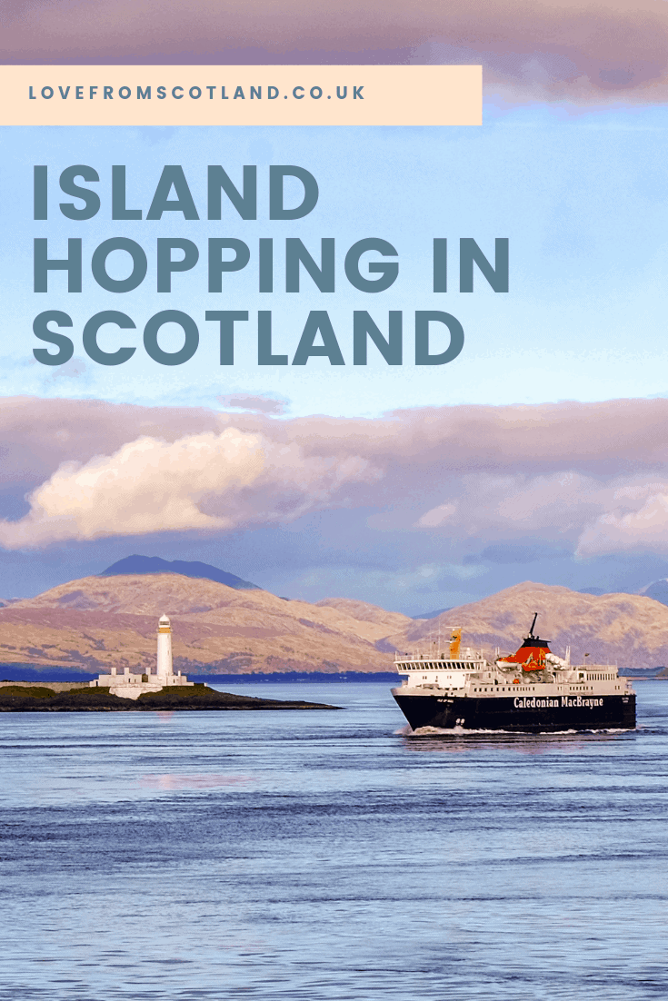 Step off a ferry onto one of Scotland's Hebridean islands and you will be hit with an undeniable sense of otherworldliness. Here's Love From Scotland's guide to going ferry hopping in the Hebrides.