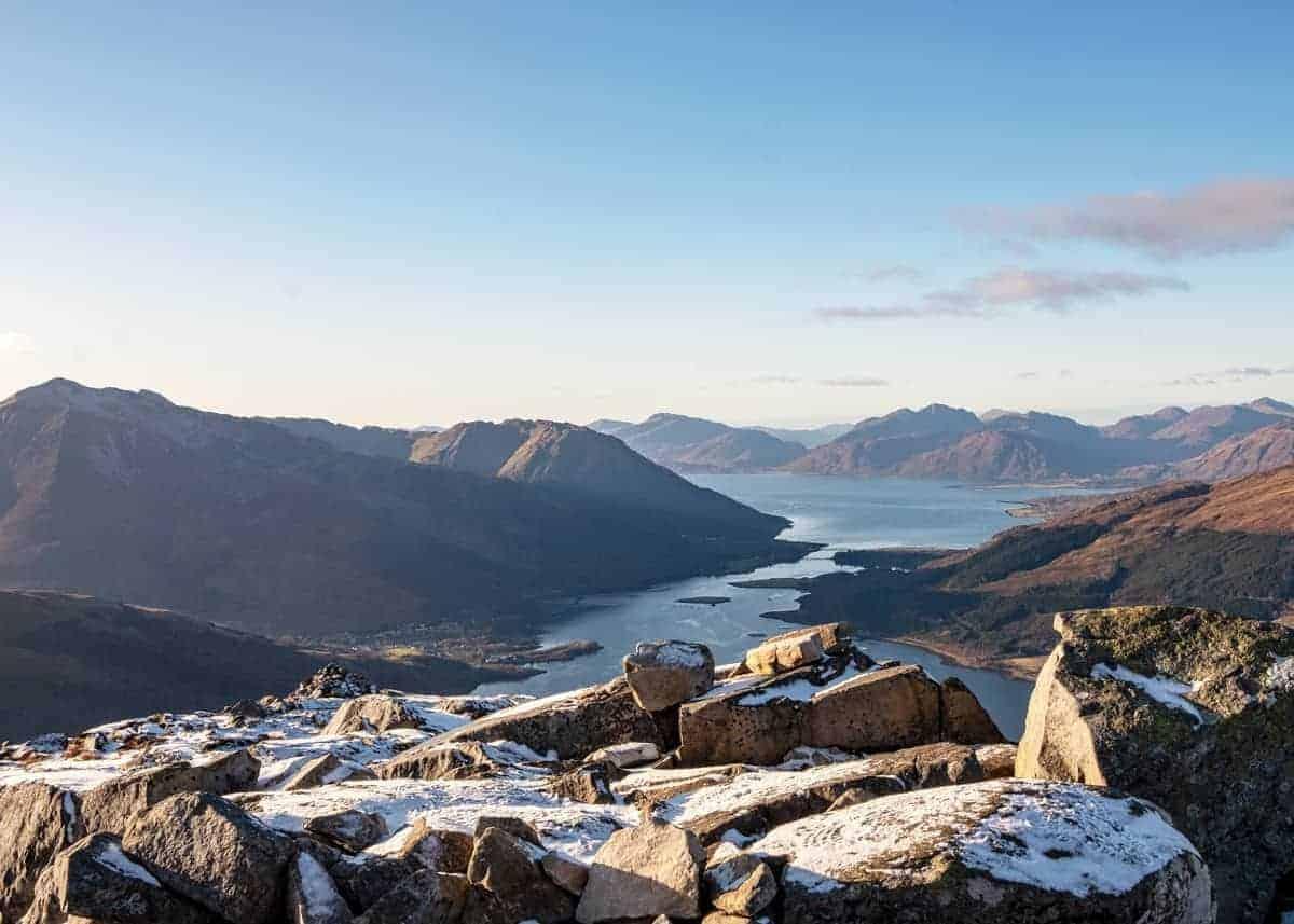How to climb the Pap of Glencoe