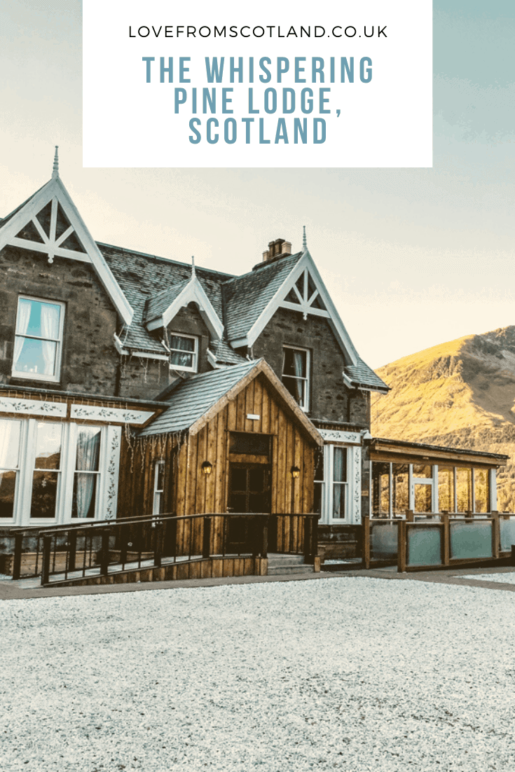 Fancy staying in a Scottish hunting lodge? In the heart of Scotland's spectacular Great Glen near Fort William is The Whispering Pine Lodge, a gorgeous highland retreat serving up some seriously good Indian food. Let\'s check-into Black Sheep Hotels for a winter weekend in Scotland.