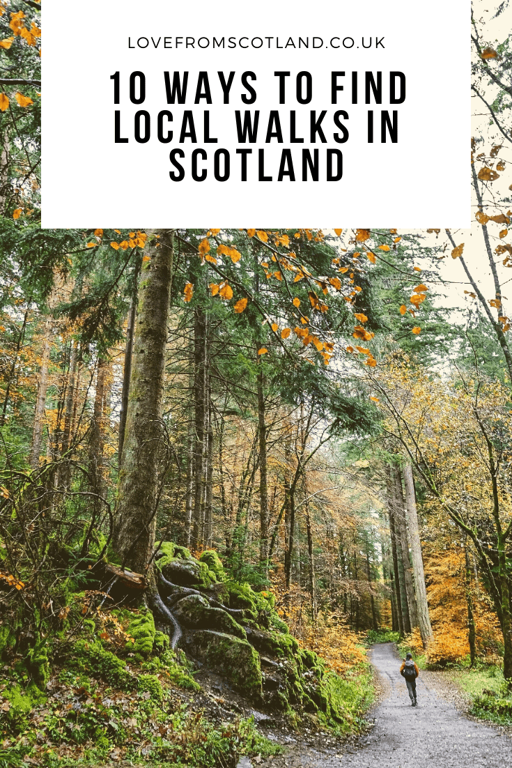 If today's changing world can teach us anything, it is the importance of going for a walk from your doorstep - here's my guide to finding your new favourite local walks in Scotland.