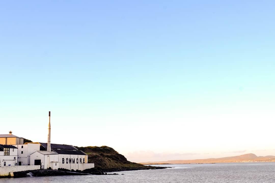 Bowmore distillery Islay