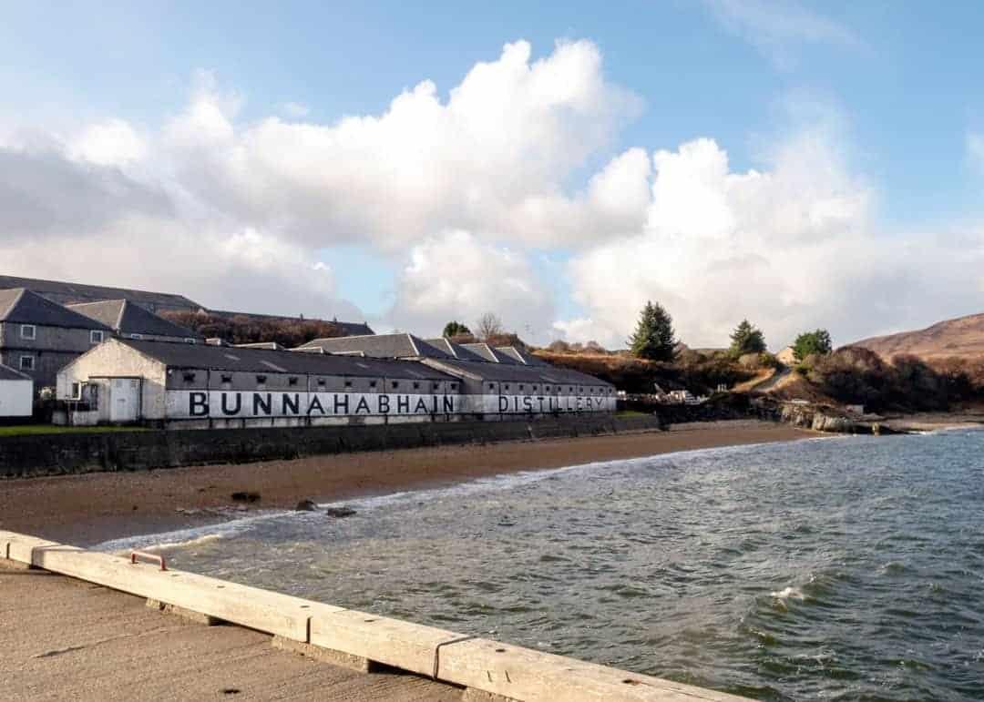 Whisky distillery Islay