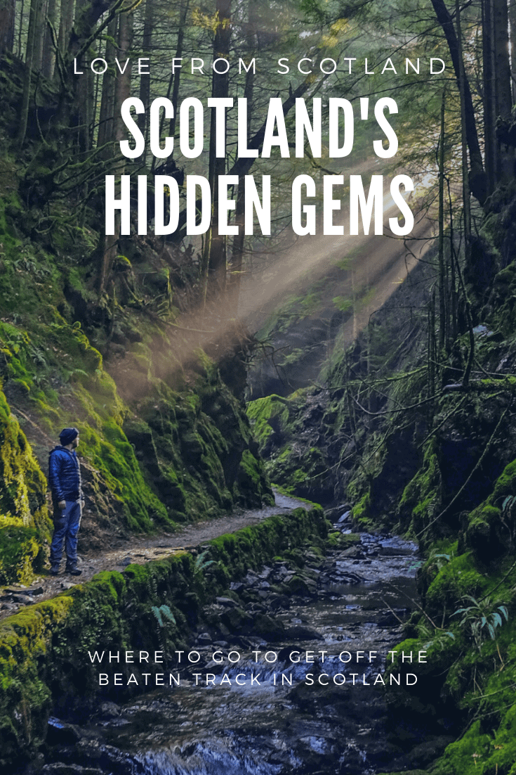 Scotland has rather a lot of hidden gems - from an alternative to Skye to a highland capital - here\'s how to visit some of Scotland\'s hidden gems!