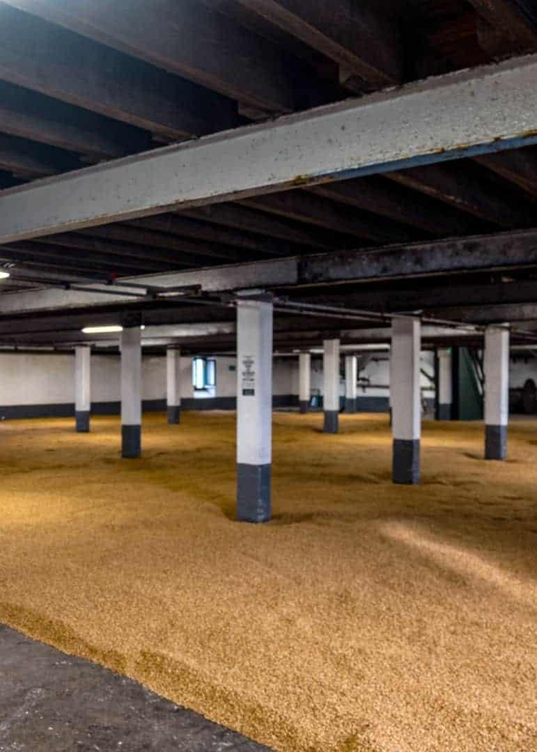 Islay whisky - malting floor