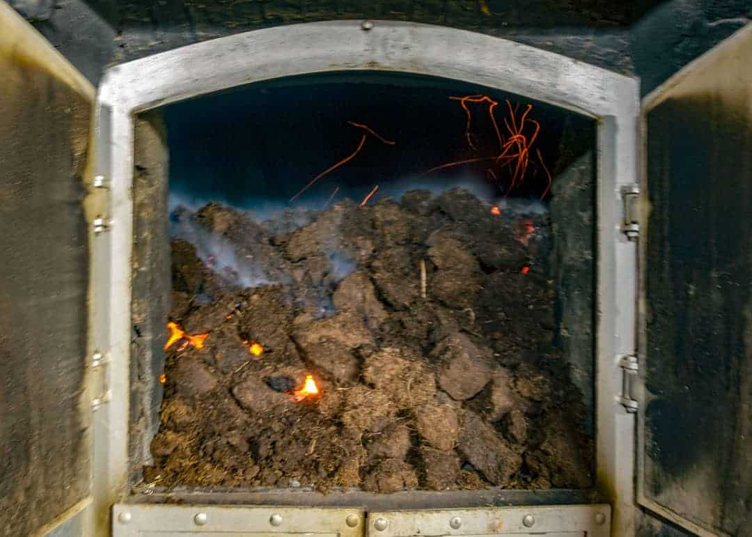 Islay whisky - peat kiln