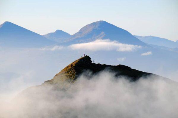 Meall nan Tarmachan the Tarmachan Ridge