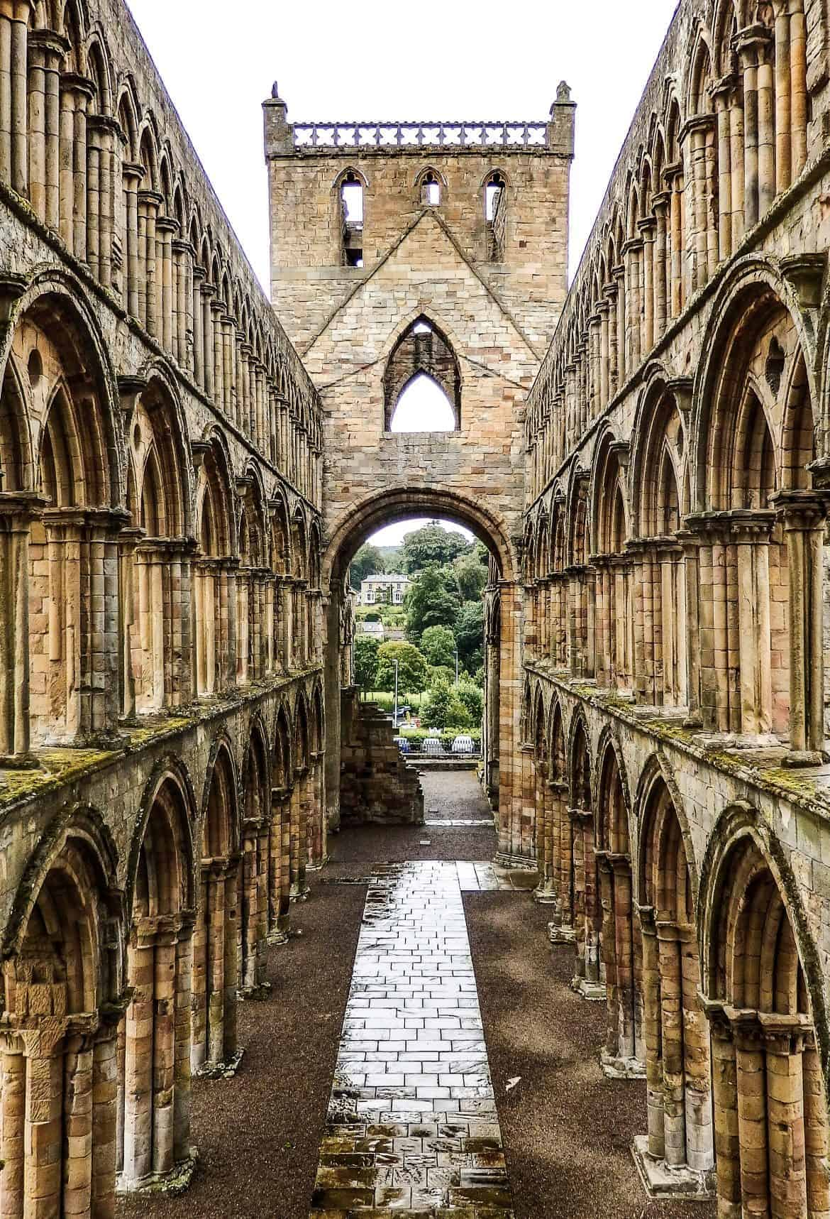 Jedburgh Abbey Scottish Bordrrs