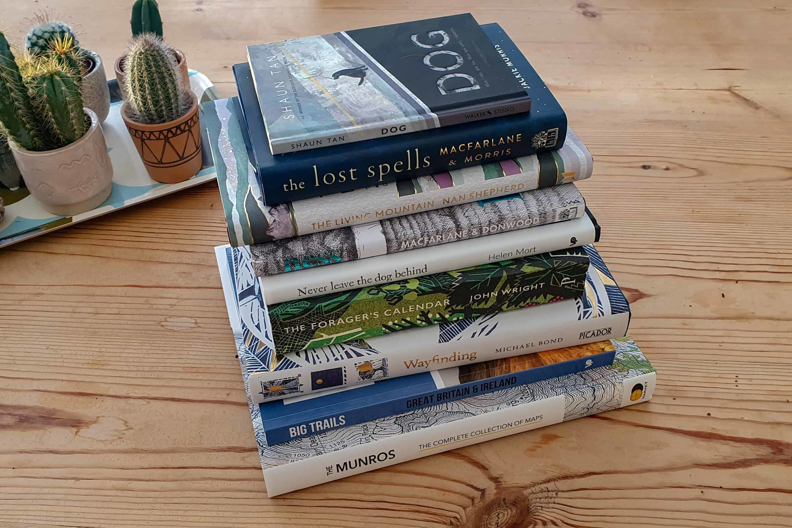 My favourite Scotland, Outdoor and Nature books of 2020