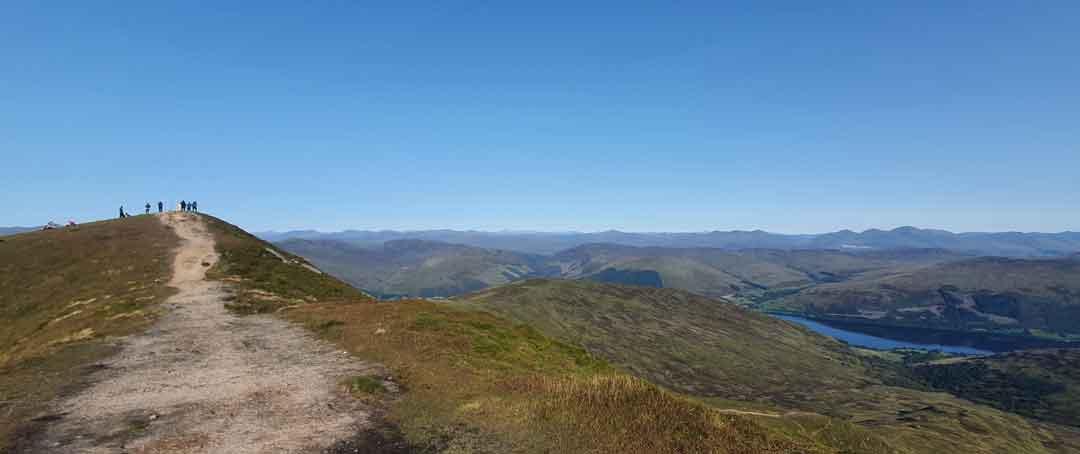 View of Ben Vorlich Loch Earn