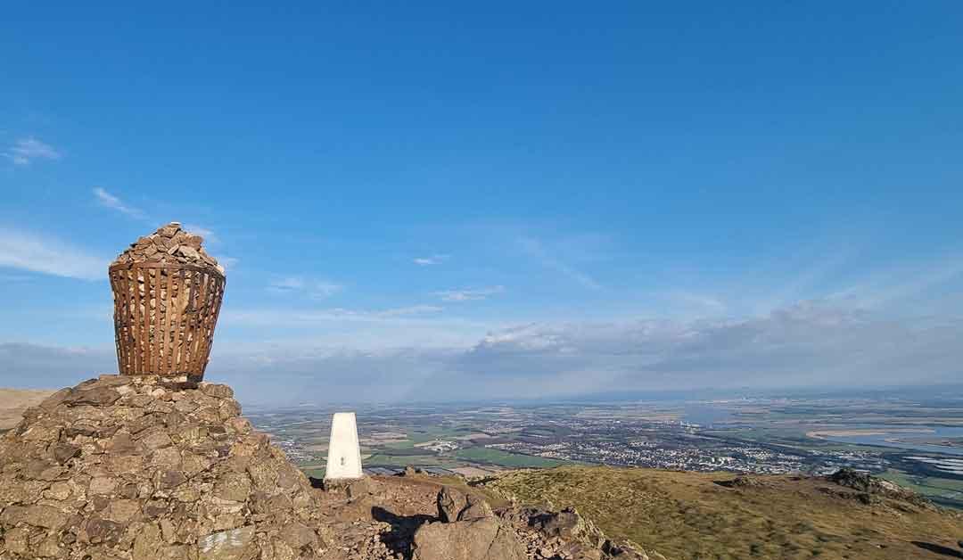 Dumyat view from cairn