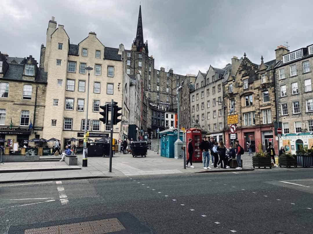 The Grassmarket, Edinburgh