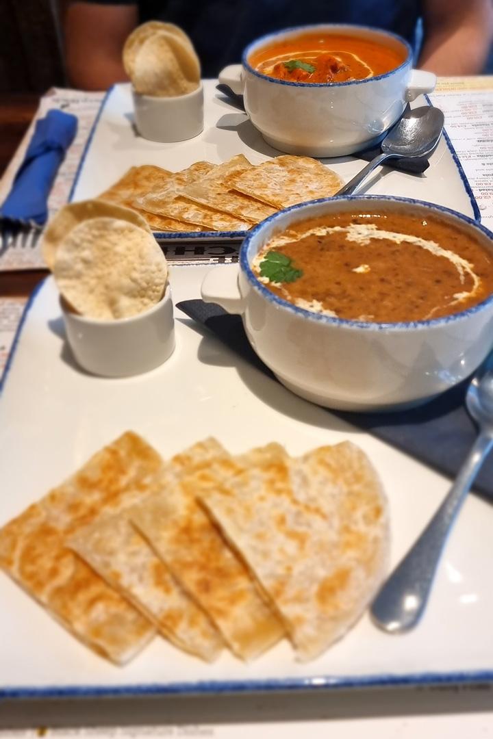 Cluanie Inn Indian Food
