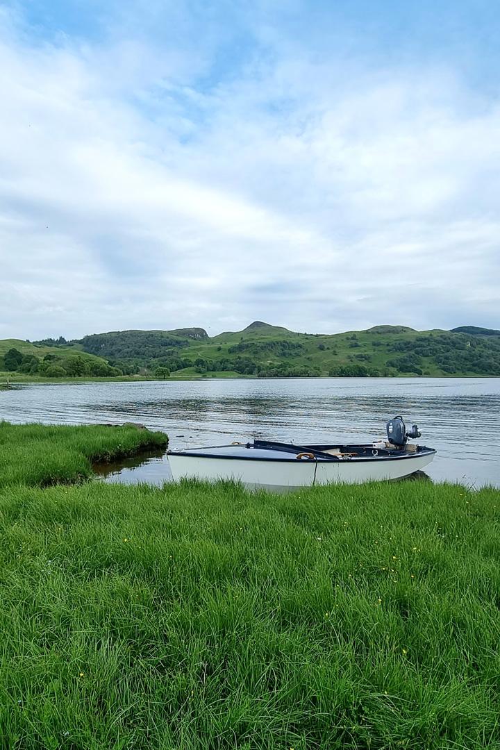Inverlonan by boat