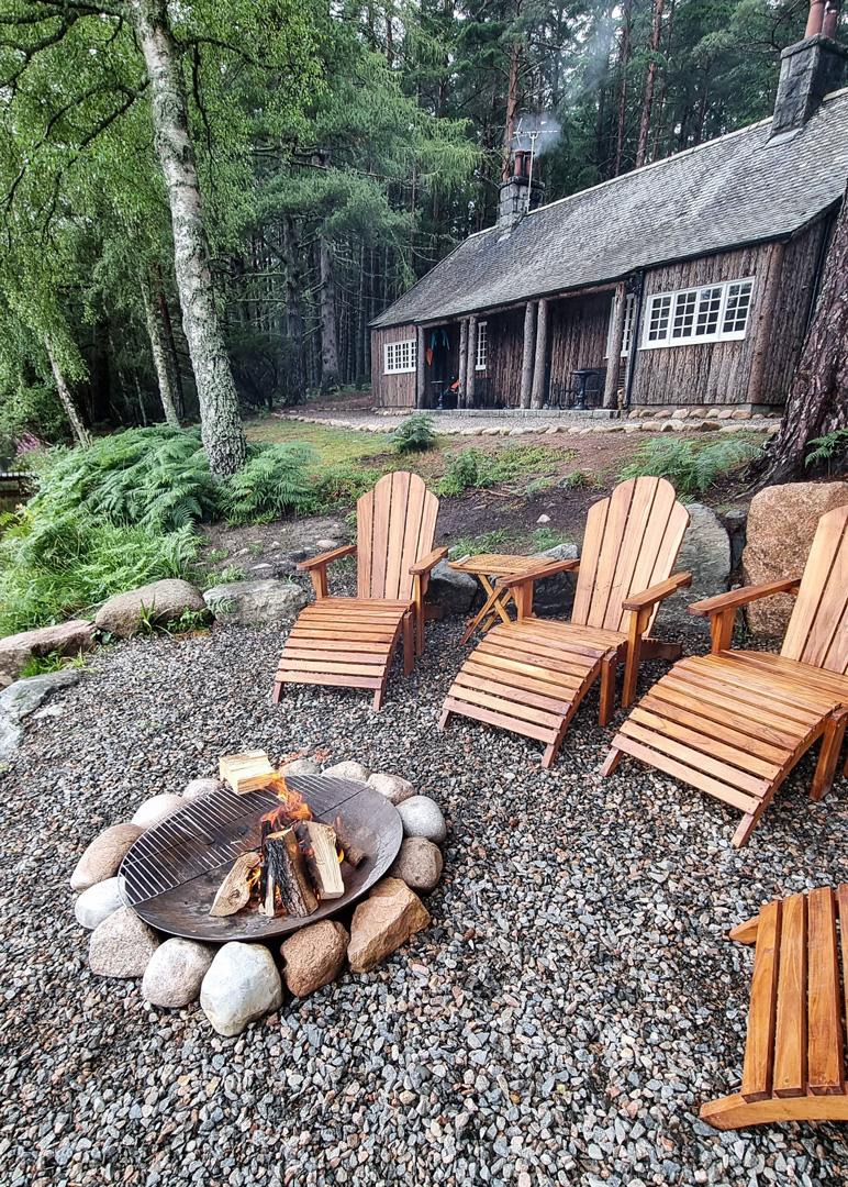 Queens Hut Aboyne Cabin Cairngorms