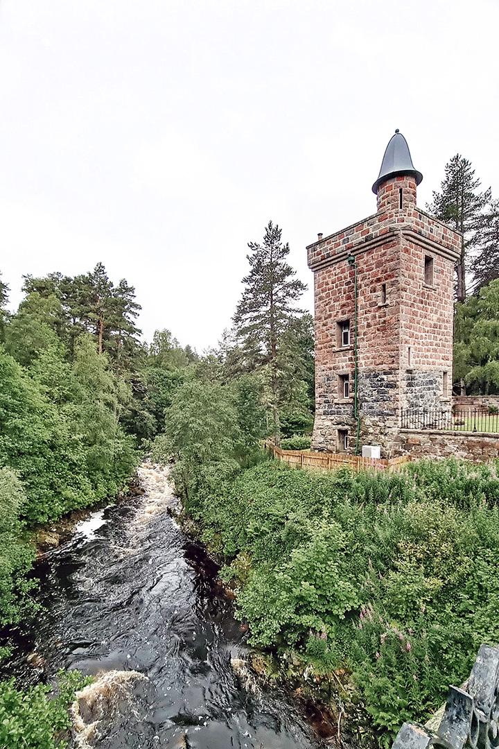 Tower of Ess Royal Deeside