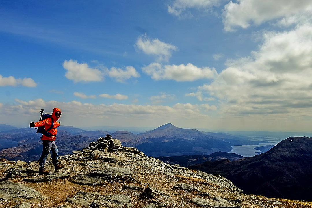 How to climb Ben Vane, Loch Lomond